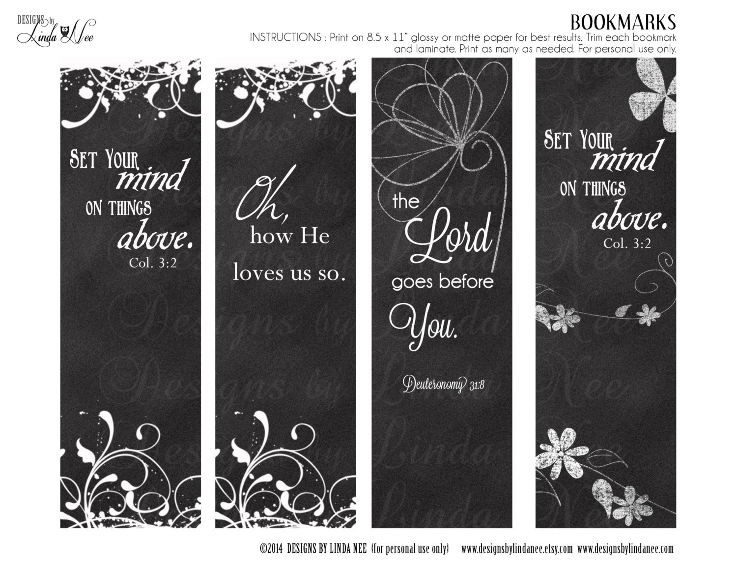 Christian Bookmarks Books Of The Bible Cards 30 Pack Luke 10 13 Art Journaling