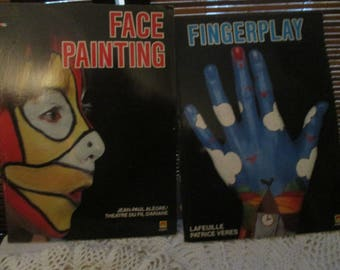 Face Painting and Finger Play Books (set of Two 1988)