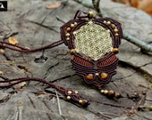 Flower of Life Macrame Pe...