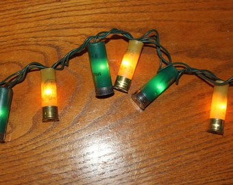Greenbay Packers Shotgun Shell Party Lights- Set of 100 lights (23 feet total).
