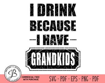 Grandpa SVG, Father's Day SVG, Funny SVG, Beer mug svg, Drink svg, svg files, svg files for cricut, svg