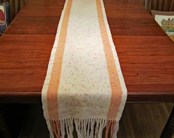 Anne's Favorite TABLE RUNNER - handwoven in cotton