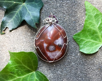 Lake Superior Agate // Sterling Silver