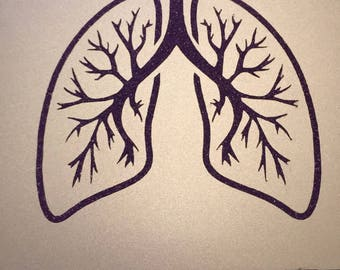 Lung Decal