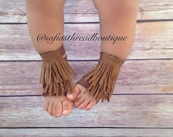 Barefoot sandals, fringe barefoot sandals, barefoot Moccasin, barefoot gladiator sandals, gladiator sandals, baby crib shoes, boho