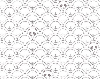 Hidden Panda Cottonbud - PANDALICIOUS by Katarina Roccella for Art Gallery Fabrics PND 10125