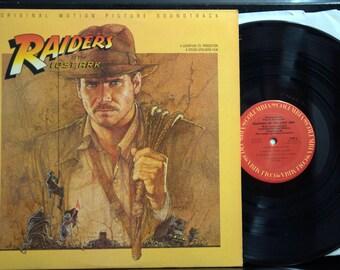 Soundtrack LP - Raiders of the Lost Ark, Steven Spielberg, Harrison Ford