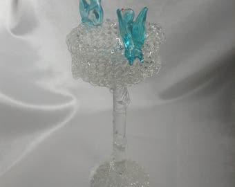 Glass filigree