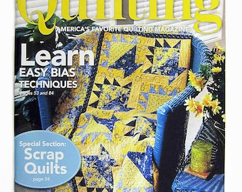 Fons & Porter Love of Quilting magazine, July August 2010, quilt patchwork projects designs