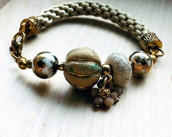 Bracelet (Ceramic beads)