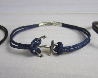 Anchor Bracelet (Four colors available)