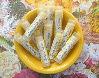 Lemon Crème Vegan Lip Balm