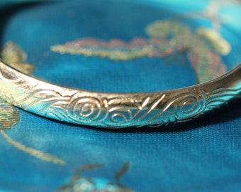 Blessing Cloud Bracelet 100% handmade from fine silver