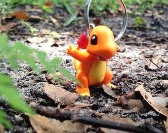 Charmander Pokemon Keychain, Pokemon Keychain, Nerd Gift, Keychains for Kids, Pokemon Party Favors