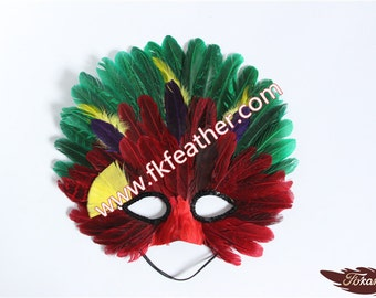Feather Mask - 21