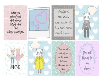 love planner stickers - Happy planner stickers - happy planner full box planner stickers - happy planner weekly planner stickers - MAMBI