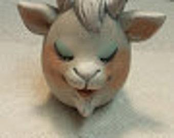 """Single Goat """"Eggs-Pression"""""""