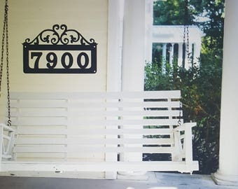 House Numbers, House Address Sign, House Numbers Sign, Custom Address Sign, Address Plaque, House Numbers Metal, Black House Numbers
