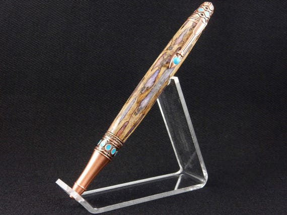 Mother's Day Handmade Arizona Cholla Skeleton Pen, Infused with Resin