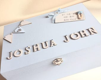 Personalised Baby Memory Boxes