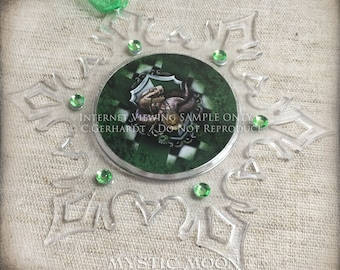 Cunning / Potter Christmas Ornament / Holiday Gifts / Wizard / Witch / Magic / Magical / Wizardry  /Personalized Gift / HP