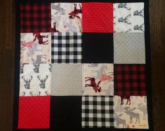 Lumberjack Baby Blanket