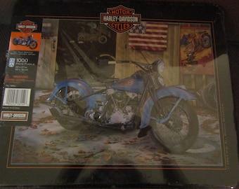 Harley Davidson 1000 Piece Puzzle