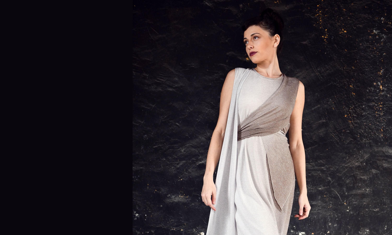 Atemberaubende Wrap-Maxi-Kleid Kleider griechische Göttin