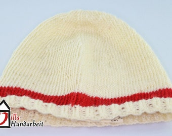 Baby hat (knit) KU 32-36 cm