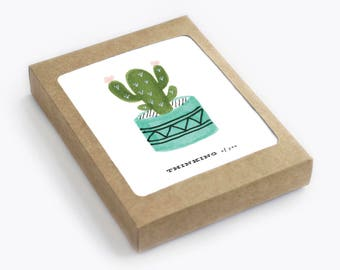 Cactus Thinking of You - Pack of 8
