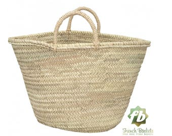 french baskets big tot simple : French Basket, Moroccan Basket, straw bag, french market basket, Beach Bag, straw bag