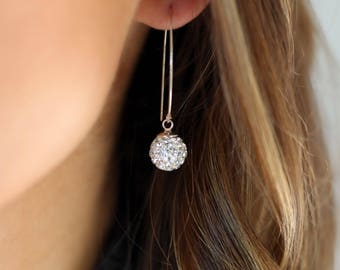 Wedding earrings,bridal earrings bridal jewelry,wedding jewelry crystal earrings,bridesmaid earrings,dangle silver earring,gift for her,