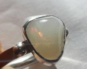 Ethiopian Opal Ring Size # 10