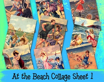 At the Beach Collage Sheet 1