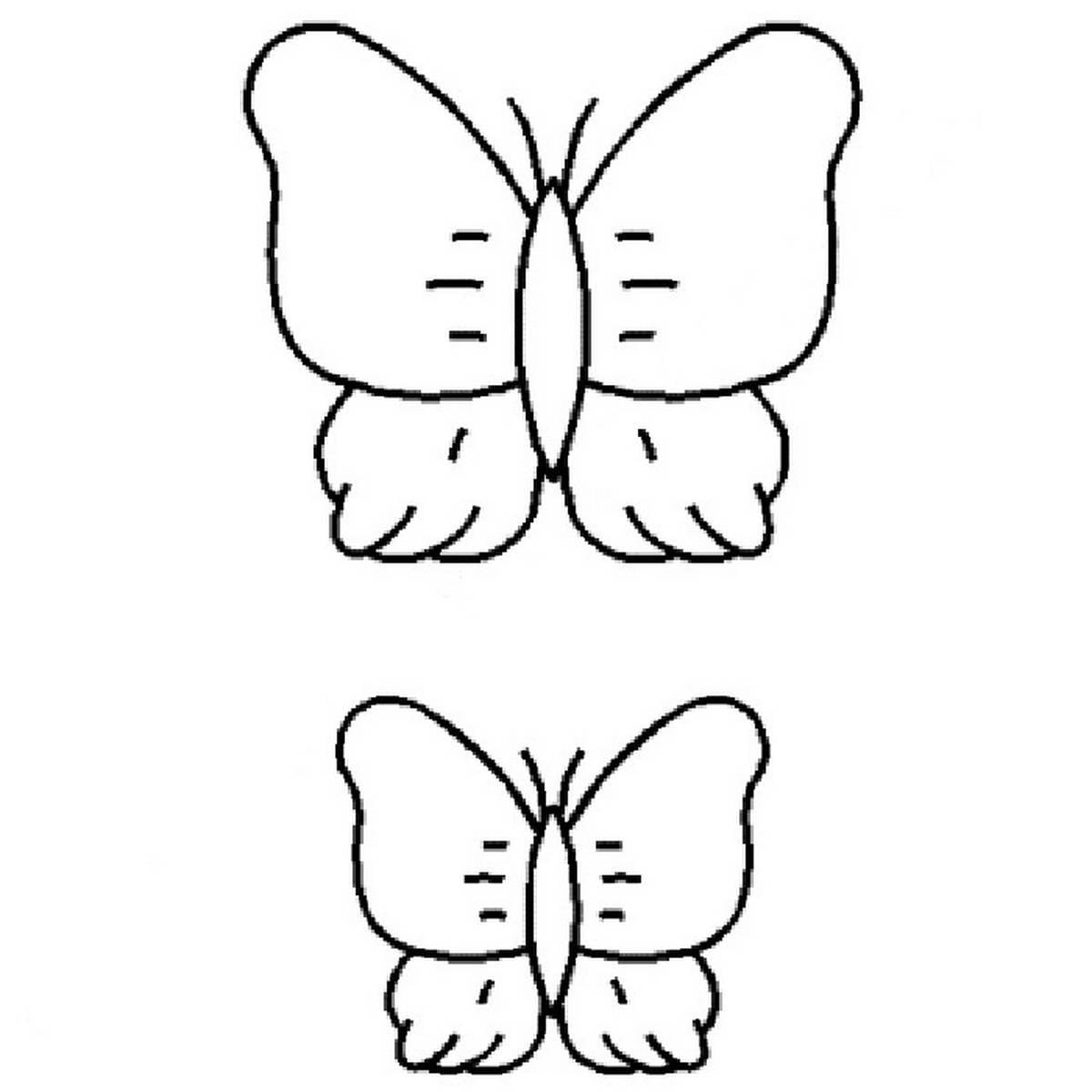 Wunderbar Schmetterlings Schablone Bilder - FORTSETZUNG ARBEITSBLATT ...