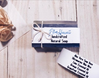Blue Hawaii Handcrafted Soap Bar