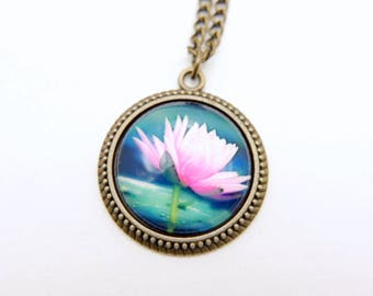 Lotus Necklace, 2525C