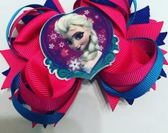 4'' Frozen OTT Bow - Clip