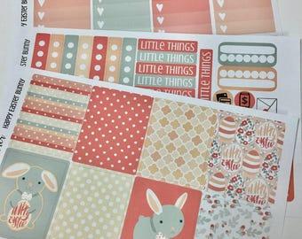 Planner Stickers - Fits Erin Condren Life Planner - Day Designer - Weekly Planner Stickers - Easter Planner Stickers - Happy Easter stickers
