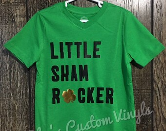 Little Sham Rocker T-Shirt - St. Patricks Day - St. Pattys Day - Kids Shirt - Toddler - Infant