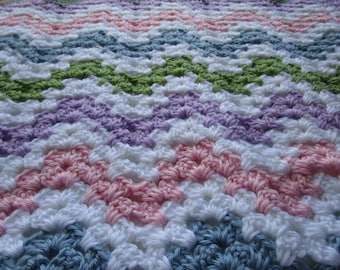 Crochet Pattern, Baby Blanket, Crochet Blanket Pattern, Crochet Afghan Pattern, PDFPattern,  Throw Blanket, Tutorial, Haakpatroon