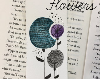Handpainted Watercolor Bookmarks