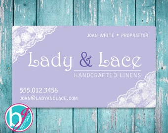 Business card design premade stitching by victoria etsy business card design premade lady lace etsy shop banner sewing business card colourmoves