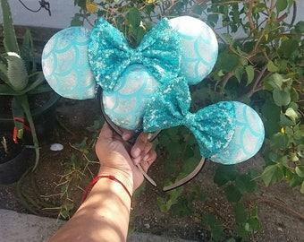 Blue Mermaid Ears