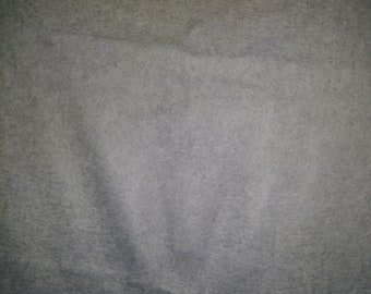Gray Fleece Fabric