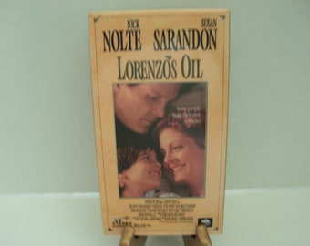VHS Tape, Lorenzos Oil, SEALED, Nick Nolte, Susan Sarandon, Color, Free Shipping