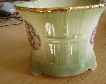 late 19th century ceramic jardinerie by aop england