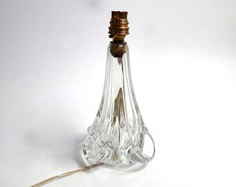Vintage French 'Cristal de Sevres' Lamp Base  So 'Chic', So French...
