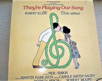 They're playing Our Song, Neil Simon, Lucie Arnaz, Vintage Vinyl, Sound Track, Movie Music, Play Our Song, Cast Recording,Broadway Music, LP