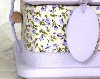 Lilac - ash casket for a child